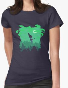 Astral Plane Womens Fitted T-Shirt