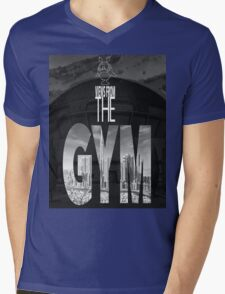 Views From The Gym Mens V-Neck T-Shirt