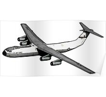 C-141 Starlifter Poster