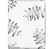 Leaves of mountain ash. iPad Case/Skin