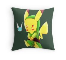 PikaLink Throw Pillow