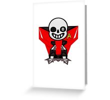 NM Red Greeting Card