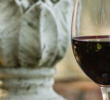 Wine and Sculptures Sticker