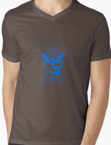 """Team Mystic"" Logo Mens V-Neck T-Shirt"