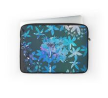 Double exposure water color painting Laptop Sleeve