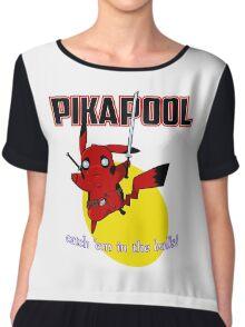 Pikapool Chiffon Top