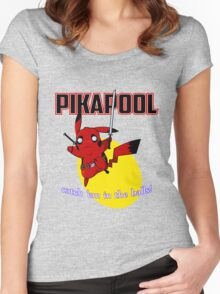 Pikapool Women's Fitted Scoop T-Shirt