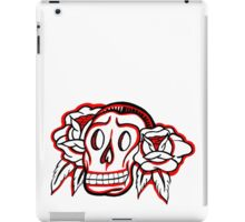 """Bold-School"" Candy Skull. iPad Case/Skin"