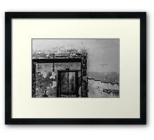 The Tragic Tale of Youth Incarceration Framed Print