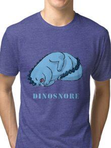 Dinosnore Tri-blend T-Shirt