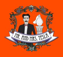 Mr. And Mrs. Tesla Kids Clothes