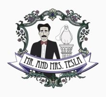 Mr. And Mrs. Tesla One Piece - Short Sleeve