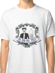Mr. And Mrs. Tesla Classic T-Shirt