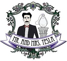 Mr. And Mrs. Tesla by fakescience