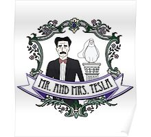 Mr. And Mrs. Tesla Poster