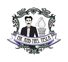 Mr. And Mrs. Tesla Photographic Print