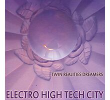 Electro High Tech City Photographic Print
