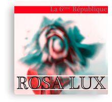 Rosa Lux Positive Canvas Print