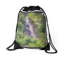 Water Fall of Telluride Drawstring Bag