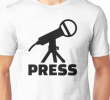 Press microphone Unisex T-Shirt