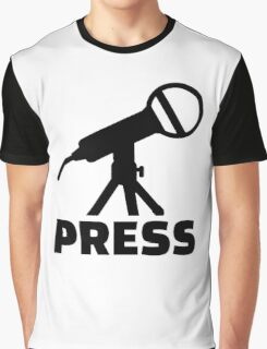Press microphone Graphic T-Shirt