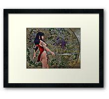 Dragons Fang Framed Print