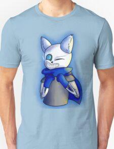 Cat Ear Underswap Sans Unisex T-Shirt