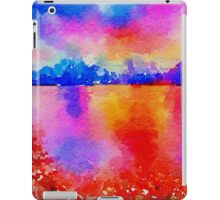 Beautiful,landscape painting,water color iPad Case/Skin