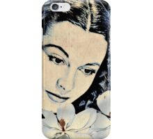 Scarlett and the Magnolias of Tara iPhone Case/Skin