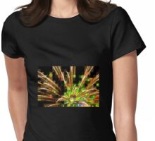 THE COOLEST FIREWORKS EVER Womens Fitted T-Shirt