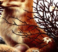 The Fox Tale Sticker