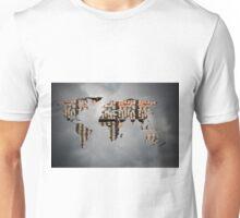 World Map of Wands Unisex T-Shirt