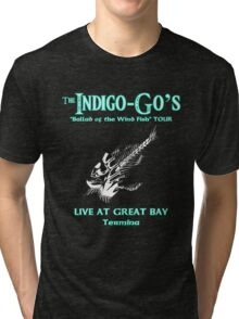 The Indigo-Go's Tour!! (Zelda: Majora's Mask) Tri-blend T-Shirt