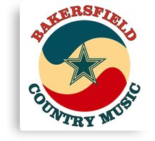 Bakersfield Country Music Canvas Print