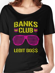 Banks Club Fever Women's Relaxed Fit T-Shirt