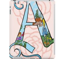 A is for Alice in Wonderland iPad Case/Skin