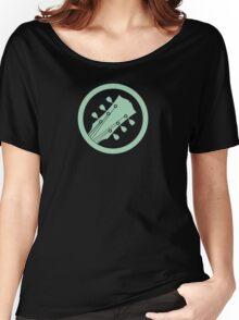 Guitar player green Women's Relaxed Fit T-Shirt