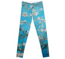Vincent van Gogh,blossom,vintage,painting,beautiful,floral Leggings