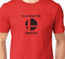 Training for Super Smash Bros Unisex T-Shirt