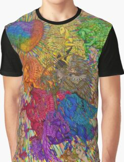 Wings Of Pride; Bow Of Freedom Drawing Graphic T-Shirt