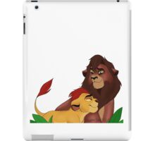 Kovu and Kion! iPad Case/Skin