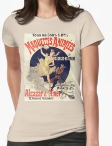 Vintage poster - Alcazar d'Hiver Womens Fitted T-Shirt