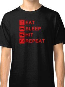 Drummer Eat Sleep Hit Repeat Classic T-Shirt