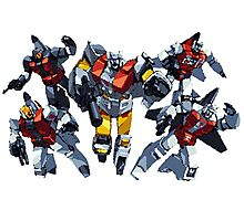 Transformers Aerialbots by BX Photographic Print