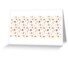 Cute design with multiple elements Greeting Card