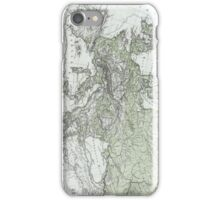 Vintage Map of Europe (1862) iPhone Case/Skin
