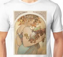 Vintage poster - Woman with fruit Unisex T-Shirt