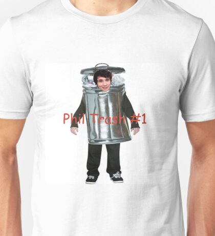 Phil Trash #1 Unisex T-Shirt