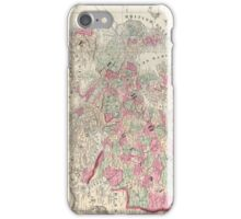 Vintage Map of Europe (1864) iPhone Case/Skin