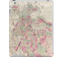 Vintage Map of Europe (1864) iPad Case/Skin